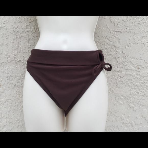 12f5458d2c Beach Diva Swim   Womens Brown Bikini Bottom Size 14   Poshmark